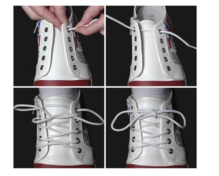 Buộc dây giày kiểu người Ukraina
