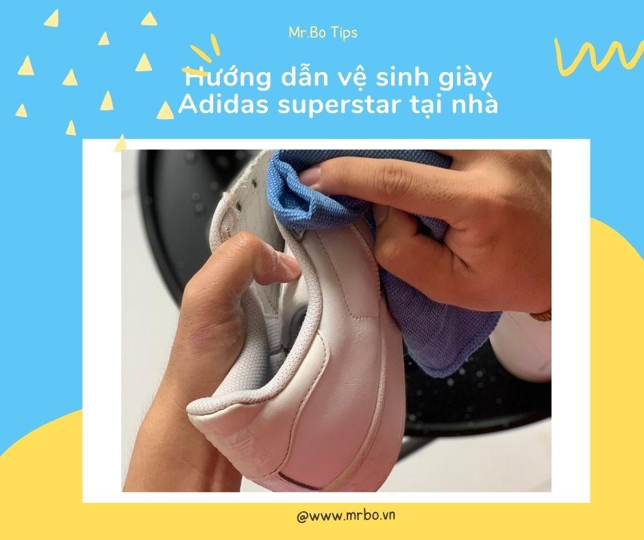 Hướng dẫn vệ sinh giày adidas